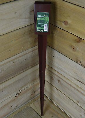 £52.99 • Buy 10x Fence Post Holder Spike Support Rust Resistant Metal Stakes 3  750mm X 75mm
