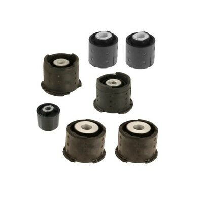$97.41 • Buy Rear Subframe Mounts Differential Axle Carrier Bushing Support Kit For: BMW E46