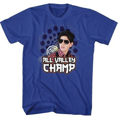 $20.70 • Buy Karate Kid Daniel Larusso All Valley Champ Adult T Shirt Great Classic Movie
