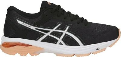 Asics GT 1000 6 Womens Running Shoes Black Structured Supportive Trainers Run • 63.99£