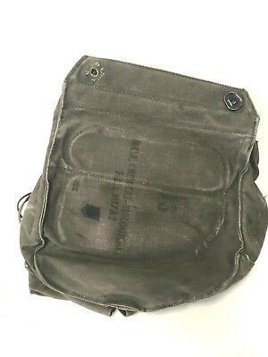 $22.99 • Buy Used Vintage M17a1 Us Army Gas Mask Chemical-biological Canvas Bag