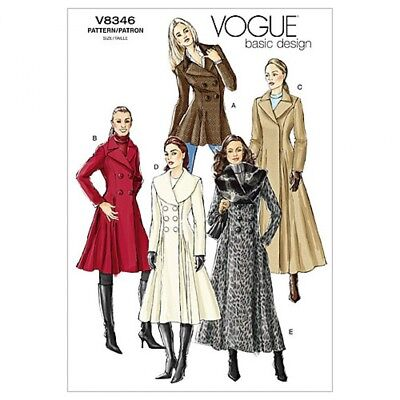 £16.24 • Buy Free UK P&P - Vogue Ladies Easy Sewing Pattern 8346 Lined Fitted Double B...