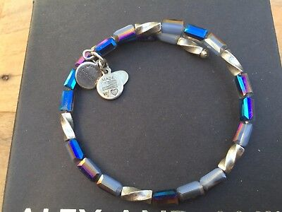 ALEX And ANI Indie Spirit VINTAGE 66 PACIFIC BLUE ALLURE Beaded Wrap BRACELET 💎 • 29.66£