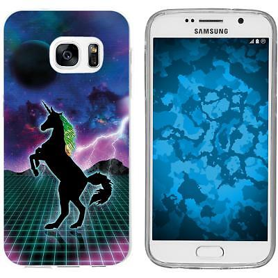 Case For Samsung Galaxy S7 Silicone Case Retro Wave M2 Cover • 8.90£