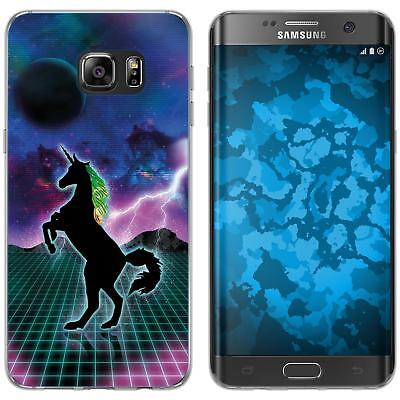 Case For Samsung Galaxy S7 Edge Silicone Case Retro Wave M2 Cover • 8.90£