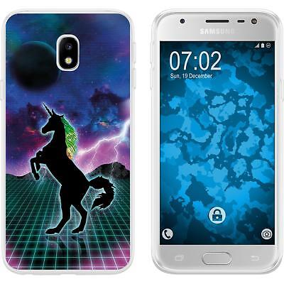 Case For Samsung Galaxy J3 2017 Silicone Case Retro Wave M2 Cover • 8.90£