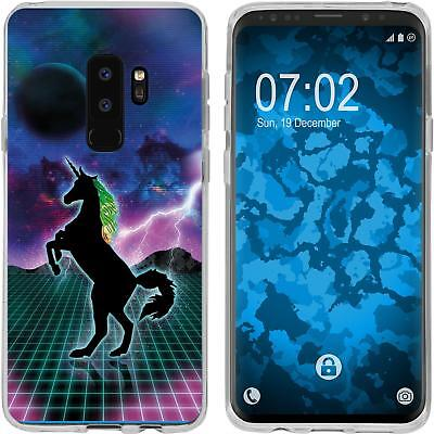 Case For Samsung Galaxy S9 Plus Silicone Case Retro Wave M2 Cover • 8.90£