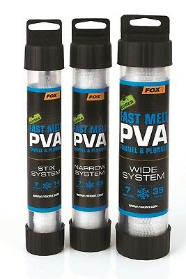 Fox Edges PVA Mesh 7m System + Plunger *NEW Version* ALL MODELS • 10.99£