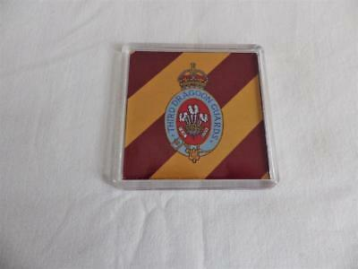 £4.70 • Buy 3rd ( PRINCE OF WALES ) DRAGOON GUARDS LARGE COASTER
