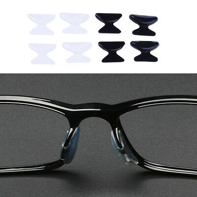 £2.98 • Buy 5 Pairs Anti-Slip Silicone Nose Pads For Eyeglass Sunglass Glasses Spectacles