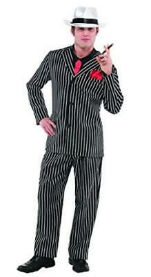 Christys Mens Gangster Mob Boss Fancy Dress Costume - One Size • 16.99£