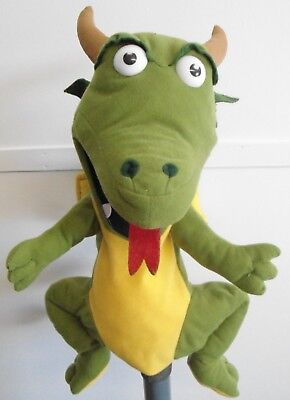 £16 • Buy Dragon Puppet Ventriloquist,Play.Educational With A Moving Mouth