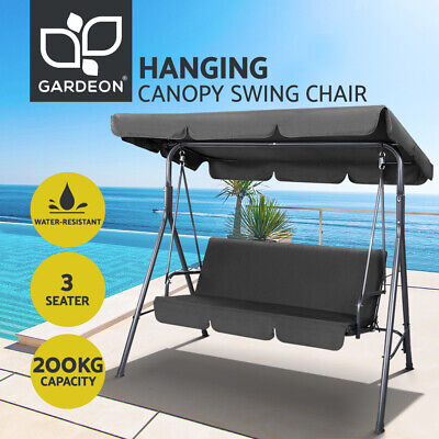 View Details Gardeon Outdoor Furniture Swing Chair Hammock 3 Seater Garden Bench Seat Canopy • 112.00AU