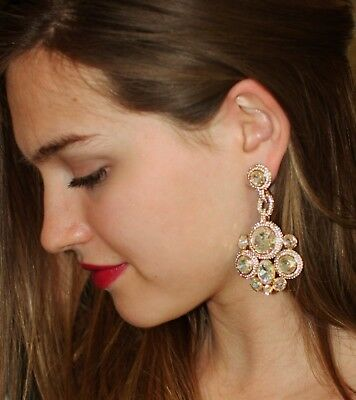 $ CDN149.51 • Buy Kate Spade Absolute Sparkle Large Crystal IRIDESCENT AB CHANDELIER Earrings Nwt