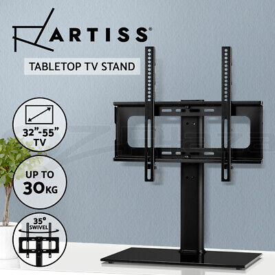 AU45.95 • Buy Artiss TV Mount Stand Bracket Swivel Table Top Desktop LED LCD 32 42 50 55 Inch