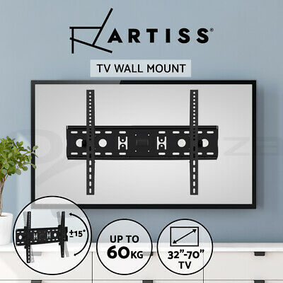 AU29.95 • Buy TV Wall Mount Bracket Tilt Slim LED LCD 32 42 50 55 60 65 70 Inch Universal