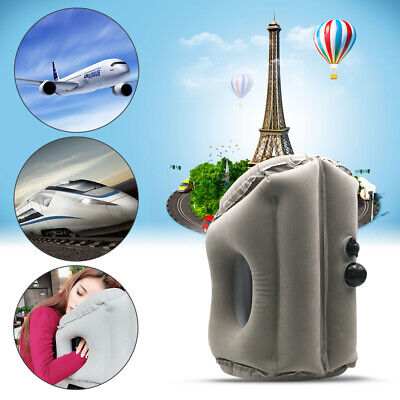 AU9.59 • Buy Inflatable Rest Travel Air Pillow Cushion Office Inflatable Nap Pillow Portable