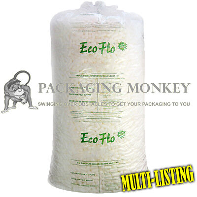 £13.65 • Buy Ecoflo Quality Biodegradable Loose Void Fill Packing Peanuts *ALL QUANTITIES*