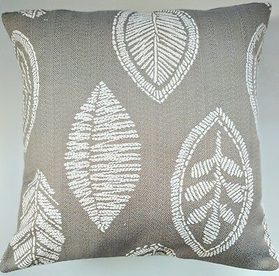 CLEARANCE Cushion Cover In Next Woven Leaf 16  Matches Curtains • 10.95£
