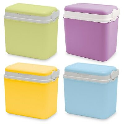 10 Litre Cooler Box Camping Beach Picnic Travel Insulated Coolbox 1 Ice Pack • 10.99£