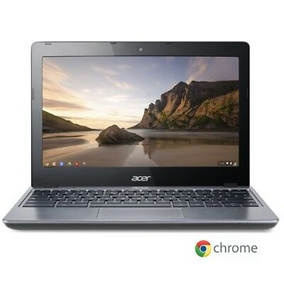 Acer C720-2103 11.6  LED Chromebook Intel Celeron Dual Core 1.4Ghz 2GB 16GB SSD