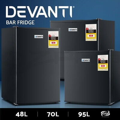 AU249.95 • Buy Devanti Bar Fridge Portable Mini Home Refrigerator Beer Freezer Office 48/70/95L