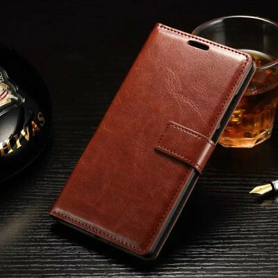 AU7.99 • Buy Vintage Leather Case Magnetic Flip Card Wallet Cover Skin For Oneplus 3 5 6 X