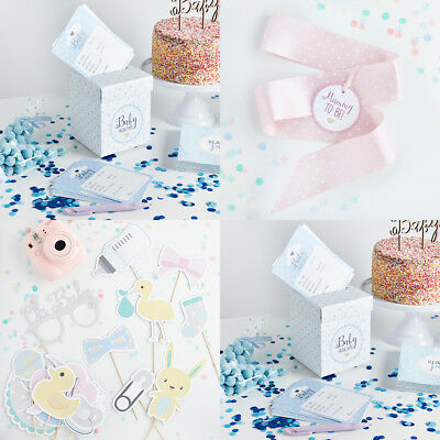 Baby Shower Game. 20 Prediction Cards & Post Box. Mum To Be Sash. Photo Props • 5.95£