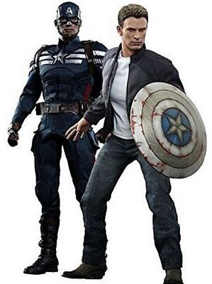 $ CDN919.04 • Buy Movie Masterpiece Captain America & Steve Rogers Collectible Figure Set