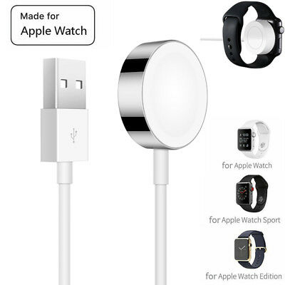 $ CDN12.09 • Buy Wireless Magnetic Charger Charging Cable Pad For Apple Watch IWatch Series 1/2/3