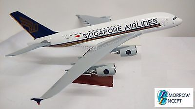 AU95 • Buy 45cm 1:160 Singapore Airlines A380 Airplane Fibreglass Resin Plane Toy Model