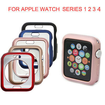 $ CDN3.95 • Buy IWatch Case Protector Cover For Apple Watch Series 4/3/2/1 TPU Bumper 38/42/44MM