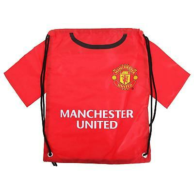MANCHESTER UNITED FC Back To School Gym Bag PE Kit Lunch Bag BIRTHDAY PRESENT  • 9.99£