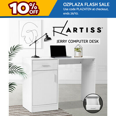 AU67.90 • Buy Artiss Computer Desk Office Table Storage PC Laptop Student Study Writing Home