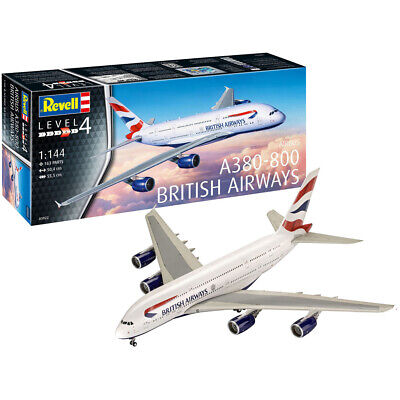 Revell Airbus A380-800 British Airways (Level 4) (Scale 1:144) 03922 NEW • 25.50£