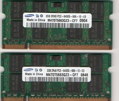 AU37.85 • Buy 4GB (2x 2GB Kit) HP EliteBook 2530p 2730p 6930p 8530p 8530w 8730w Laptop Memory