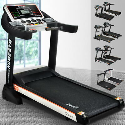 AU639.95 • Buy Everfit Electric Treadmill Auto Incline Home Gym Exercise Run Machine Fitness