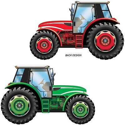 AU12.99 • Buy Tractor Farm Barnyard Country Party Large Cutout Wall Decoration