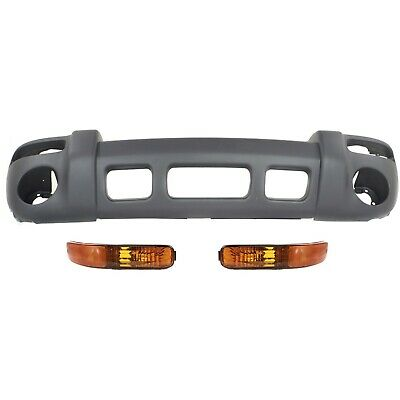 $100.40 • Buy Bumper Cover Kit For 2002-2004 Jeep Liberty Left And Right 3pc