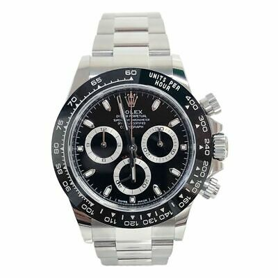 $ CDN36318.46 • Buy Rolex Daytona Stainless Black Dial Ceramic Bezel 116500LN