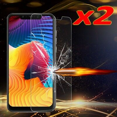 AU3.56 • Buy 2PACK Tempered Glass For Xiaomi Pocophone F1 Screen Protector Film Glass
