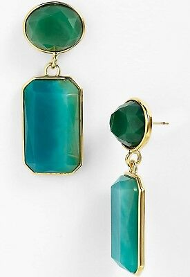 $ CDN130.13 • Buy  DAZZLE DROP  Kate Spade NY Aqua Blue Teal Green Dangle Chandelier Earrings
