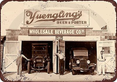 $29.95 • Buy 1934 Yuengling's Beer PA Brewery Prohibition Vintage Retro Metal Sign 8  X 12