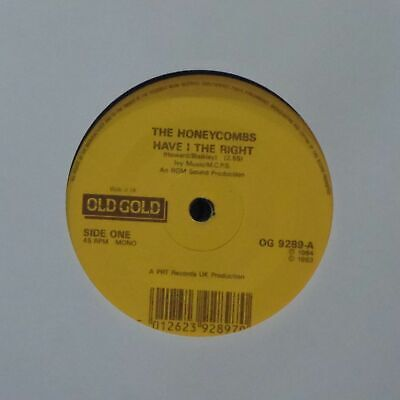The Honeycombs 'have I The Right' Uk 7  Single • 2.99£