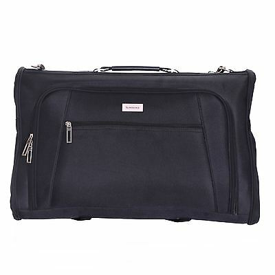 Cabin Carry-On Travel Hand Luggage Suit Dress Garment Carrier Suiter Cover Bag • 24.99£