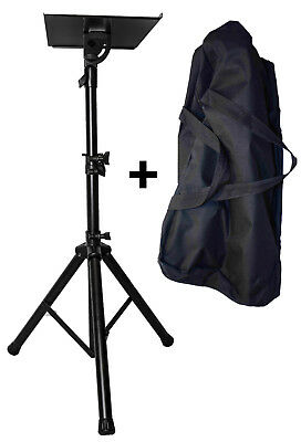 AU79 • Buy Laptop Projector Tripod Stand  / Adjustable Height & Tilt Removable Tray + Bag