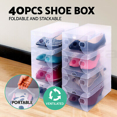 AU49.90 • Buy Shoe Storage Cabinet Shoes Rack Shelf Cube Organiser Stackable Portable 6 Tier