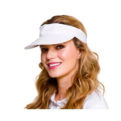 Sun Visor Sports Summer Tennis Pub Golf & Fancy Dress Hat Adult New • 1.49£