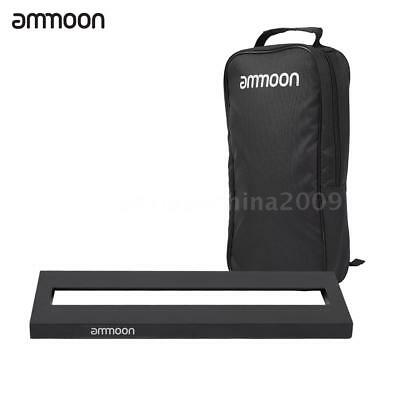 $ CDN52.98 • Buy Ammoon DB-1 Aluminum Alloy Guitar Pedal Board With Carrying Bag Tapes NEW V5X7