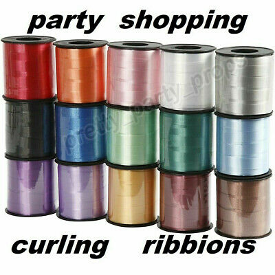 50 Meter Rose Gold String Tie Balon Curling Ribbon For Party Decor Gift Wrapping • 2.49£